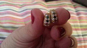 14k gold earrings for Sale in Mesquite, TX