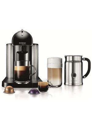 Nespresso VertuoLine with Milk Frother and Storage Stand for Sale in Alexandria, VA
