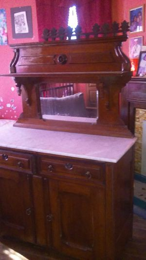 Marble top sideboard,antique 1850s for Sale in Bristol, TN