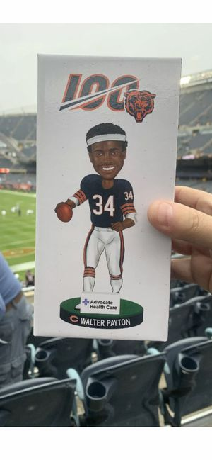 Chicago Bears Walter Payton Bobblehead SGA 100 Year Giveaway 10/20/19 2019 NEW for Sale in Elgin, IL