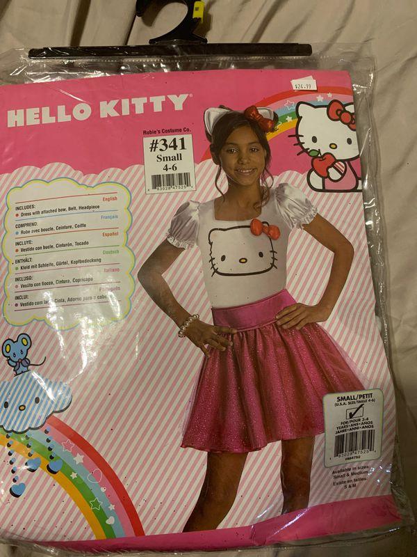 Small hello kitty costume