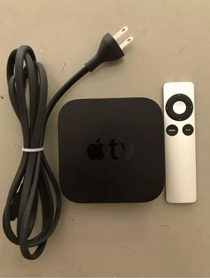 Apple TV Third Gen in brand new conditions with accessories for Sale in Orlando, FL