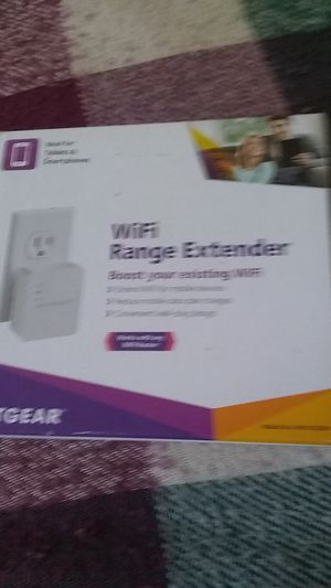 WiFi range extender work s with any wifi router for Sale in Saint Petersburg, FL