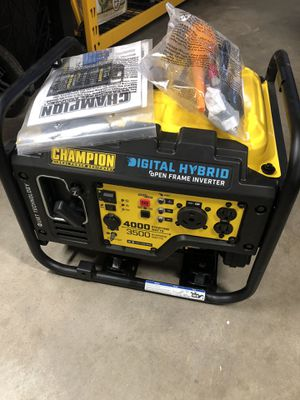 Champion 4000 Watt Open Frame Inverter Generator for Sale in Hesperia, CA