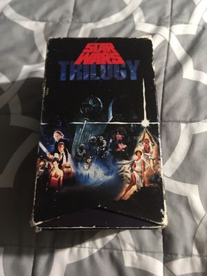 Star Wars Trilogy VHS Box Set Original Theatrical Versions Fox 1992 for Sale in Azusa, CA