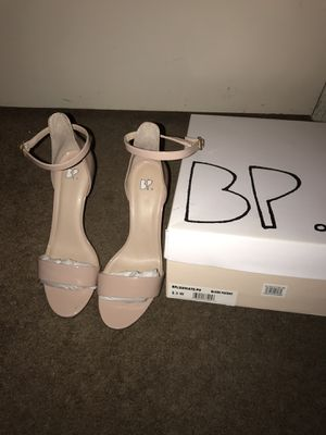 BP Luminate Heels—Blush Patent Color (LIKE NEW) for Sale in Moreno Valley, CA