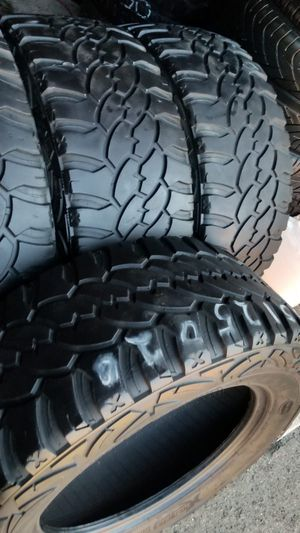 4 tires Lt35x12.50r20 procomp xtreme very good tread on $280.00 all 4 for Sale in Anaheim, CA