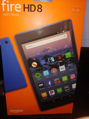 """Amazon fire 8"""" 8th generation tablet for Sale in Oceanside, CA"""