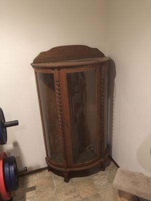 Antique curio cabinet for Sale in Marysville, WA