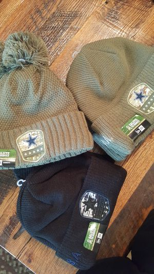 Dallas Cowboys NIKE SALUTE TO SERVICE MILITARY BEANIES for Sale in Grand Prairie, TX