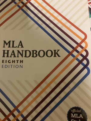MLA HANDBOOK for Sale in Fresno, CA