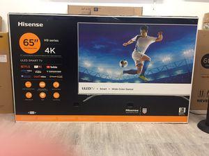 65 INCH HISENSE H9 4K SMART TV for Sale in Chino Hills, CA