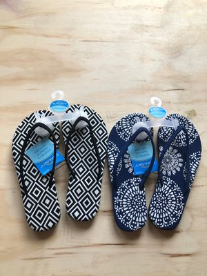 New women unbuckle sandals size 5/6 2 left for Sale in Westminster, CA
