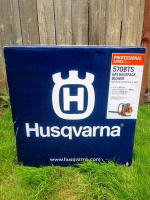 Husqvarna Professional Series Gas Backpack Blower (Model 570 BTS) for Sale in Tacoma, WA