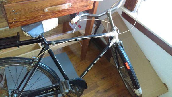 Original Vintage Royce Union Bicycle