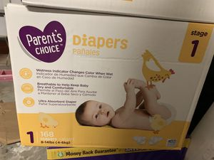 diapers size 1 and NB for Sale in Orlando, FL