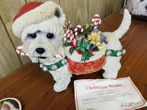 Westie Christmas Statue by Danbury Mint for Sale in Pittsburgh, PA