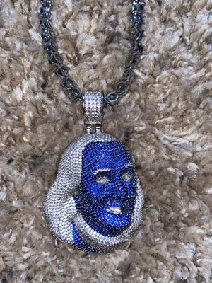 Blue face white gold chain from gold Gods for Sale in Carlsbad, CA