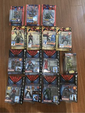Marvel Legends Spiderman movie Figure lot Venom goblin toy for Sale in Queens, NY
