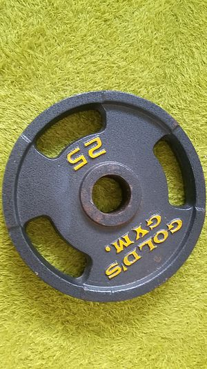 Gold's Gym 25 pound plate for Sale in Miami, FL