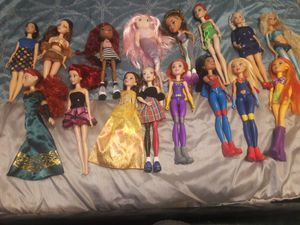 Barbies And Marval Action Figures for Sale in Ontario, CA