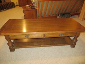 Ethan Allen Coffee Table - Solid Wood for Sale in Denver, CO