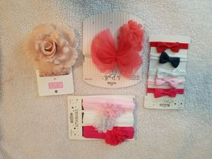 4Headwraps and elephant toy teether for Sale in Victorville, CA