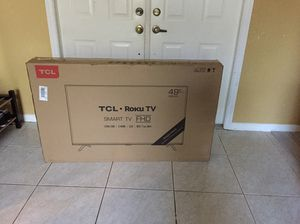 "New TCL Roku TV FHD 49S325 49"" for Sale in Hialeah, FL"