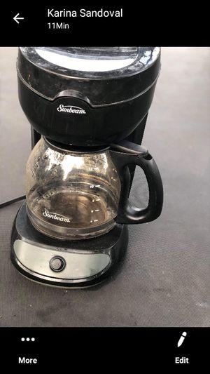 Sunbean coffee maker for Sale in Houston, TX