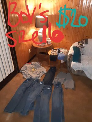 Boys size 16 clothes lot good condition for Sale in Saint Thomas, PA