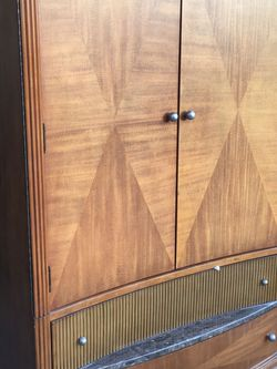 Tv Stand- Wood Drawer T.V. Stand for Sale in Los Angeles,  CA