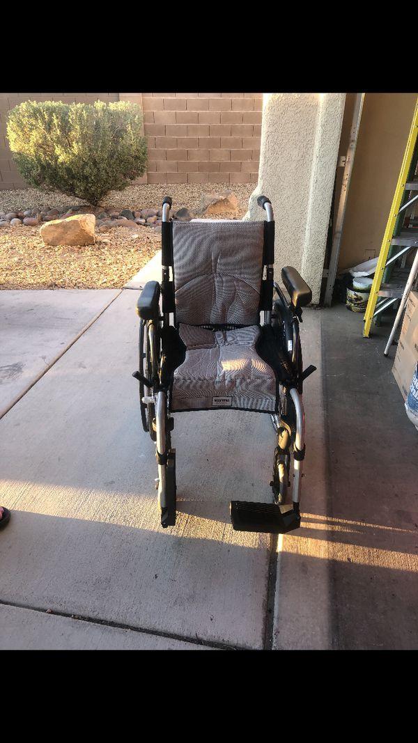 Beautiful wheelchair LIKE NEW!!!$350