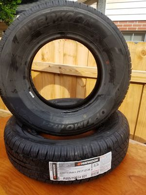 BRAND NEW set of 2 Hankook Optimo H724 205/70R14 (trailer) tires for Sale in Winter Haven, FL