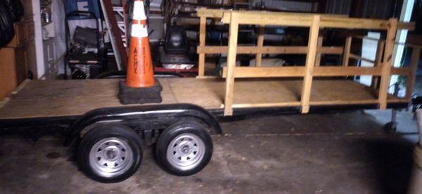 14,FT Trailer New Brake Lights New Wiring