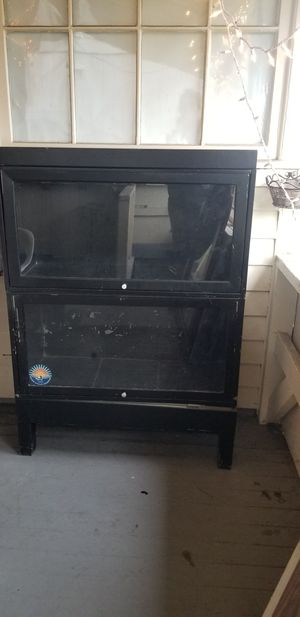 Metal display cabinet for Sale in Tacoma, WA