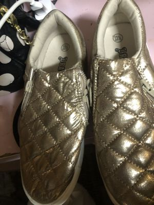 Girls gold shoes for Sale in Sacramento, CA