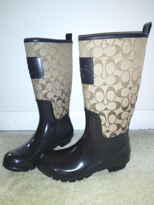 Women's Coach Rain Boots for Sale in Edmonds, WA