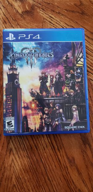 Kingdom Hearts 3 for Sale in Catonsville, MD