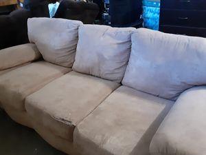 Tan sofa for Sale in Norfolk, VA