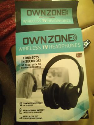 Ownzone wireless TV headphones for Sale in Hillcrest Heights, MD