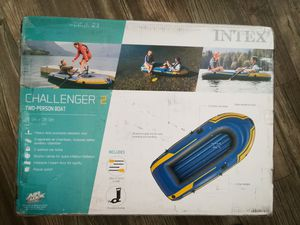 New Intex Challenger 2 inflatable boat set for Sale in Tempe, AZ