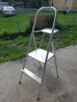 Werner aluminum stepladder and platform ladder 4-1/2ft for Sale in Tampa, FL