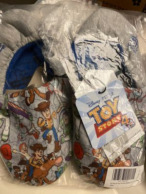 Kids Toy Story slippers for Sale in Moreno Valley, CA