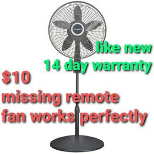 Lasko 18″ Pedestal Fan with Remote Oscillation and Thermostat for Sale in Norwalk, CA