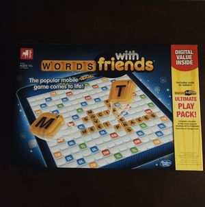 Words With Friends Board Game! for Sale in Rancho Cucamonga, CA
