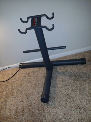 """Weight rack that holds weights and a pair of dumbbells. 23"""" height x 29.5"""" width. for Sale in Deerfield Beach, FL"""