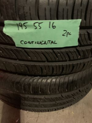 195 55 16 continental for Sale in Roselle, IL