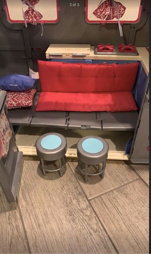 """Our generation Jeep and camper. Fits 18"""" dolls our generation, American girl and my life as dolls for Sale in SEATTLE, WA"""