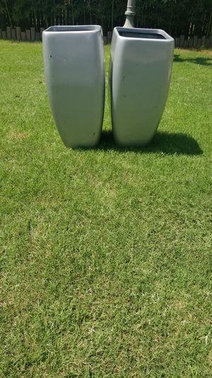 2 FIBERGLASS PLANTERS NEW!! for Sale in Arlington, TX