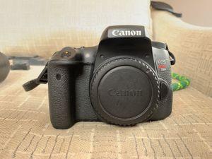 Canon t6s amazing starter kit canon camera rebel t6s for Sale in Atlanta, GA